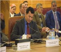 وزير الرياضة يشهد الجلسة الثالثة من «المبادرات الشبابية لدحر الإرهاب»