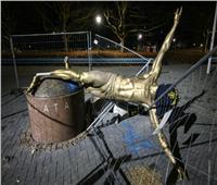 تخريب تمثال إبراهيموفيتش في مسقط رأسه