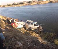 مصرع سائق غرقًا في بحر شبين بالغربية