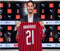 شاهد| «إبراهيموفيتش» يسجل أول أهدافه بعد عودته لـ«ميلان»