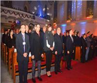 صور| وزيرة الهجرة تشارك احتفال الكنيسة الإنجيلية بعيد الميلاد المجيد