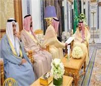 أمير الكويت يتسلم رسالة شفوية من خادم الحرمين الشريفين