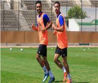 حسين الشحات يواصل تدريباته العلاجية