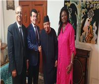تقديرًا لجهوده .. المدير العام للإيسيسكو يزور مدير عام اليونسكو الأسبق