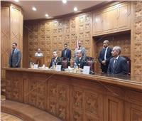 1102 موظف يؤدون اليمين القانونية أمام وزير العدل..صور