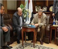 بدء تنفيذ مشروع التحول الرقمي وميكنة القطاعات الحكومية بكفر الشيخ
