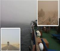 غلق بوغازي مينائي الإسكندرية والدخيلة بسبب العواصف الترابية