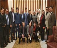 رئيس الهيئة الوطنية للصحافة يلتقي وفد تنسيقية شباب الأحزاب