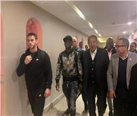 حارس خاص من ليفربول مع ساديو ماني بحفل «الأفضل»