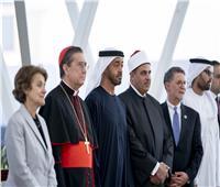 محمد بن زايد يستقبل رئيس جامعة الأزهر وأعضاء لجنة «الأخوة الإنسانية»