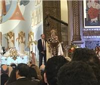 البابا تواضروس: حضور الرئيس السيسي يفرحنا.. ونصلي من أجله