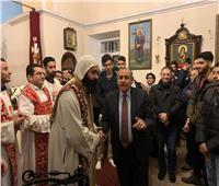 السفارة المصرية بروسيا تشارك في قداس عيد الميلاد المجيد