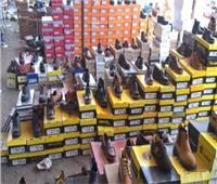 ضبط مصنع غير مرخص لإنتاج الأحذية بالقليوبية وبداخله 6 512 قطعة إنتاج