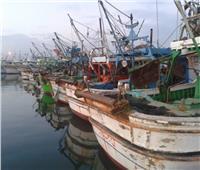 رياح شديدة وتوقف حركة الصيد بكفر الشيخ