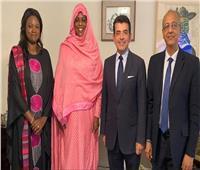 السيدة الأولى في السنغال تستقبل المدير العام للإيسيسكو