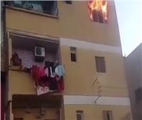 حريق يلتهم محتويات وحدة سكنية بالكامل في قنا