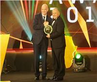 مصر تحصد جائزة أفضل اتحاد في حفل «الكاف» بأفريقيا