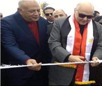 نائب رئيس حزب الغد يضع حجر الأساس لنادي الحزب بالشرقية