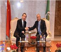أبو الغيط يبحث مع وزير خارجية الصين تطورات أوضاع المنطقة