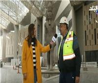 فيديو  عماد فايز: المتحف المصري يضم أول مسلة معلقة بالعالم