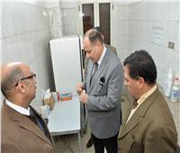 محافظ أسيوط يتفقد أعمال تطوير مستشفى الرمد