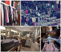صور| «الأسعار نار والشتاء جبار».. ركود في محلات وسط البلد وملابس الوكالة «تكسب»