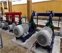 ٢٨ محطةارتوازية تواجه نقص المياه خلال فترة السدة الشتوية بسوهاج