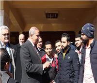 صور| رئيس جامعة الأزهر يتفقد سير الامتحانات بكليات مدينة نصر