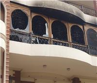 بالصور  حريق هائل في فيلا والد الفنان إيهاب توفيق