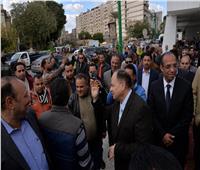 صور  محافظ أسيوط يشهد انطلاق حملة شتاء دافئ