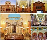 صور| المعبد اليهودي بالإسكندرية يستعيد بريقه.. والافتتاح «الجمعة»