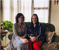 تفاصيل لقاء سفير مصر في بوروندي مع ممثلة البنك الدولي