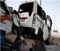 مصرع شخصين وإصابة 25 بحادث تصادم في بني سويف