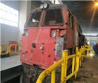 صور| «ورشة التبين» تطلق 5 جرارات «GE» جديدة على السكك الحديد بعد صيانتها