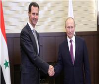 عمرو أديب يعلق على زيارة بوتين لسوريا ولقائه بشار الأسد