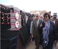 وزير الثقافة ومحافظ جنوب سيناء يشهدان ختام فعاليات القافلة الثقافية بوادى سبتة