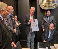 بالصور.. السجاد المصري ينافس ويخطف الأنظار في معرض هانوفر