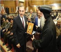 صور| محافظ كفر الشيخ يشهد مراسم مئوية تأسيس كنيسة مار جرجس بدسوق