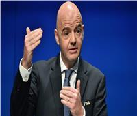 خاص| انفانتينو رئيس «الفيفا»: رئاسة الكاف ليست حكراً على البشرة السمراء