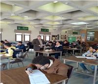 الهدوء يسيطر على امتحانات الأسبوع الثاني بكلية اللغة بإيتاي البارود الأزهر