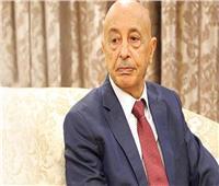 رئيس النواب الليبي يشارك عبد العال منصة البرلمان بالجلسة العامة