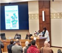 وزيرة الثقافة أوجه دعوة لكل الأسر المصرية لزيارة معرض الكتاب