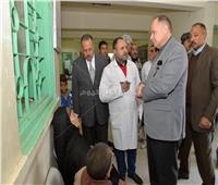 محافظ أسيوط يتفقد وحدة طب الأسرة بإسكندرية التحرير