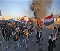 ارتفاع حصيلة الاشتباكات بين الشرطة العراقية والمتظاهرين في واسط إلى 59 شخصا