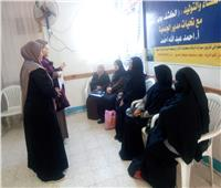 استجابة لطلب السيدات.. فتح منافذ جديدة لمبادرة دعم صحة المرأة بسيناء