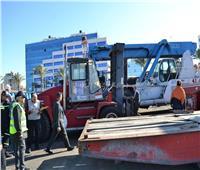3 لجان لفحص تراخيص الشركات وسلامة المعدات بمينائي الإسكندرية والدخيلة