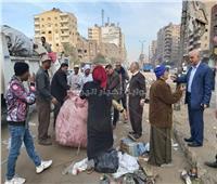 صور| بشكل رسمي منع سير «عربات الكارو» في شبرا الخيمة