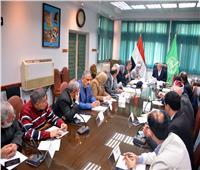 محافظ القليوبية يعقد اجتماعا لتخريج دفعة جديدة ممن أدوا الخدمة العامة