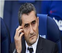 صحيفة إسبانية: برشلونة يقيل فالفيردي خلال ساعات
