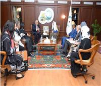 مناقشات لبحث استعدادات مصر لاستضافة منظمة تنمية المرأة